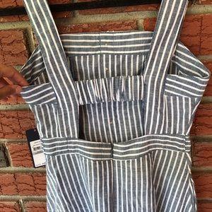 RACHEL Rachel Roy Dresses - Navy stripped cotton dress by Rachel Roy